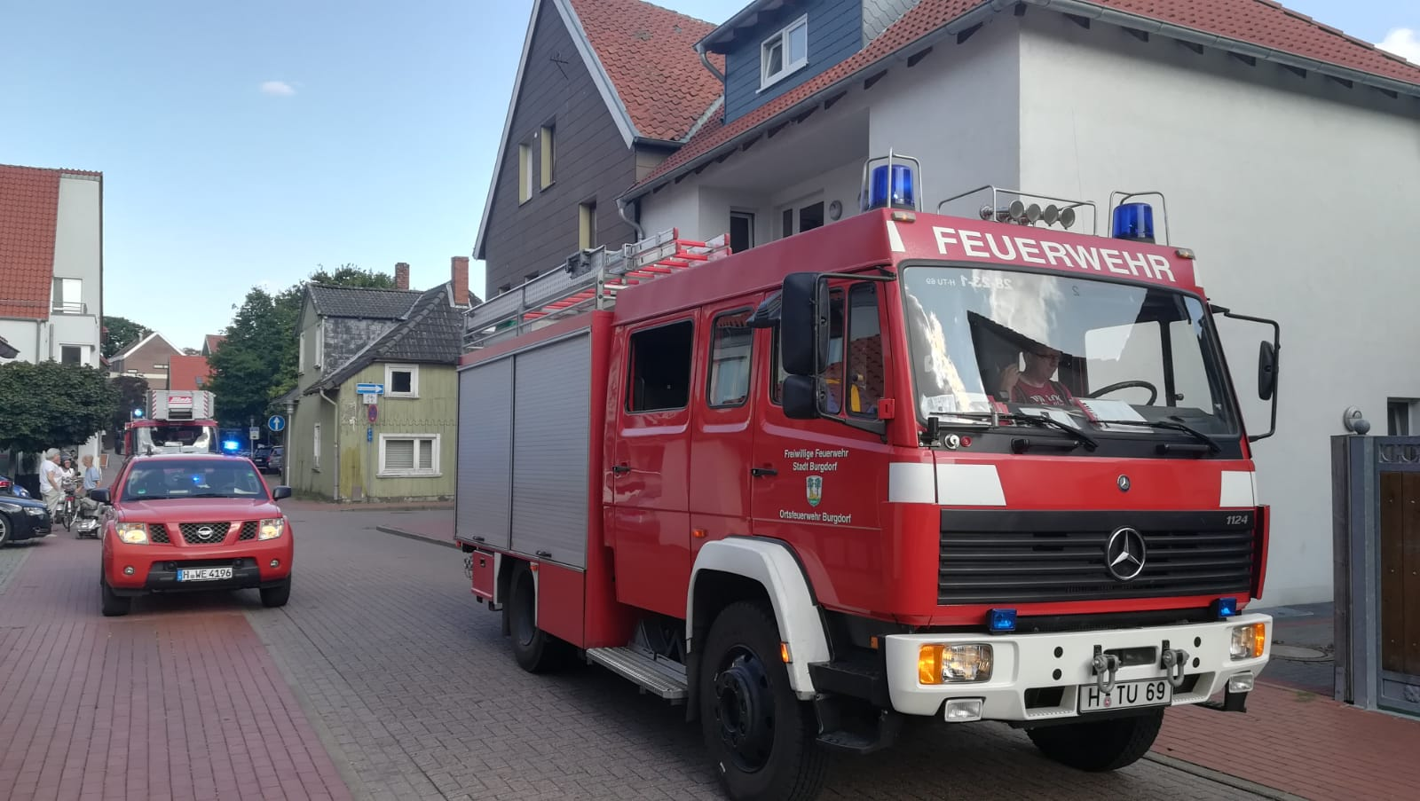 Brandeinsatz